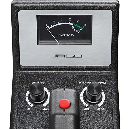 Jago - Detector de metales con bobina de búsqueda a prueba de agua hasta 17 cm: Amazon.es: Bricolaje y herramientas