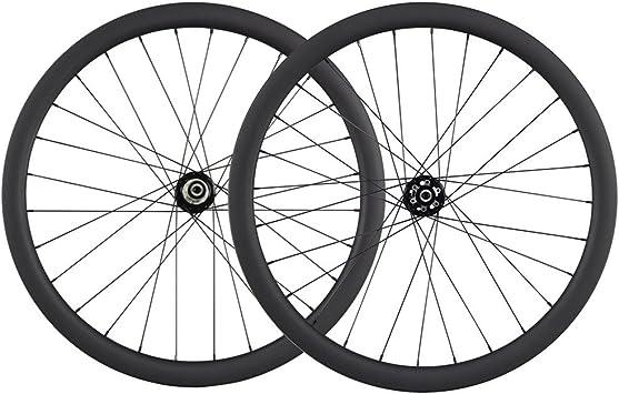 ICAN 700 C para bicicleta de ciclocross freno de disco ruedas carbono Clincher Llanta 28 agujeros Shimano o SRAM XD Driver 10/11 Velocidad, Shimano 10/11 speeds: Amazon.es: Deportes y aire libre