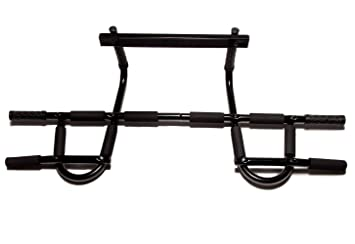 functional fitness pull up bar for doorway door frame no screws perfect - Door Frame Pull Up Bar
