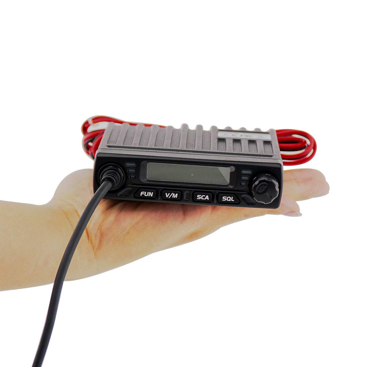 1 Pack Retevis RT98 Mobile Radios Mini Amateur Transceiver 15W UHF Lock LCD 199 Ch 51 CTCSS 1024 DCS Car Ham Mobile Two Way Radio with Speaker Mic