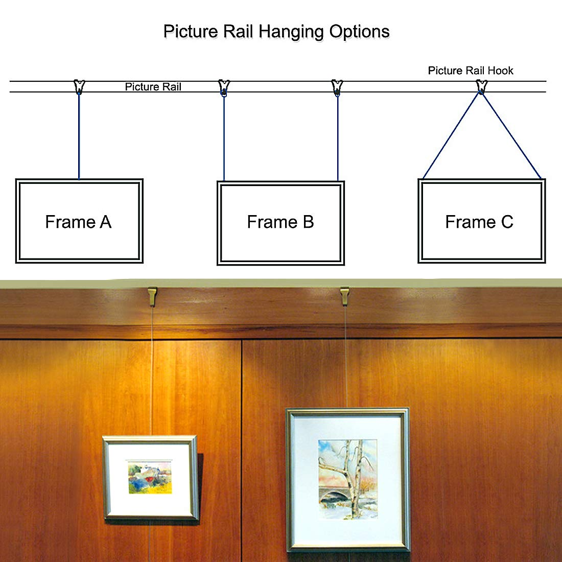 Art to Frames Double-Multimat-537-817//89-FRBW26061 Collage Frame Photo Mat Double Mat with 4-4x6 and 4-2.75x2.75 and 1-5x7 Openings and Espresso Frame