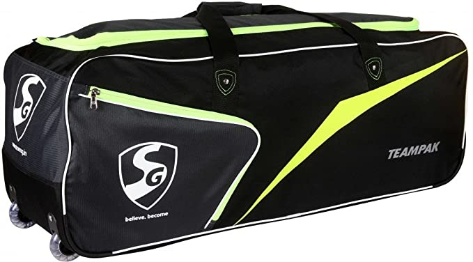 Buy SG Extreme Cricket Kit (1 SG Phoenix Extreme Kashmir Willow Bat (Short  Handle) + 1 SG Club Leather Ball + 1 SG Teampak Kit Bag 5a4e17f682ddd
