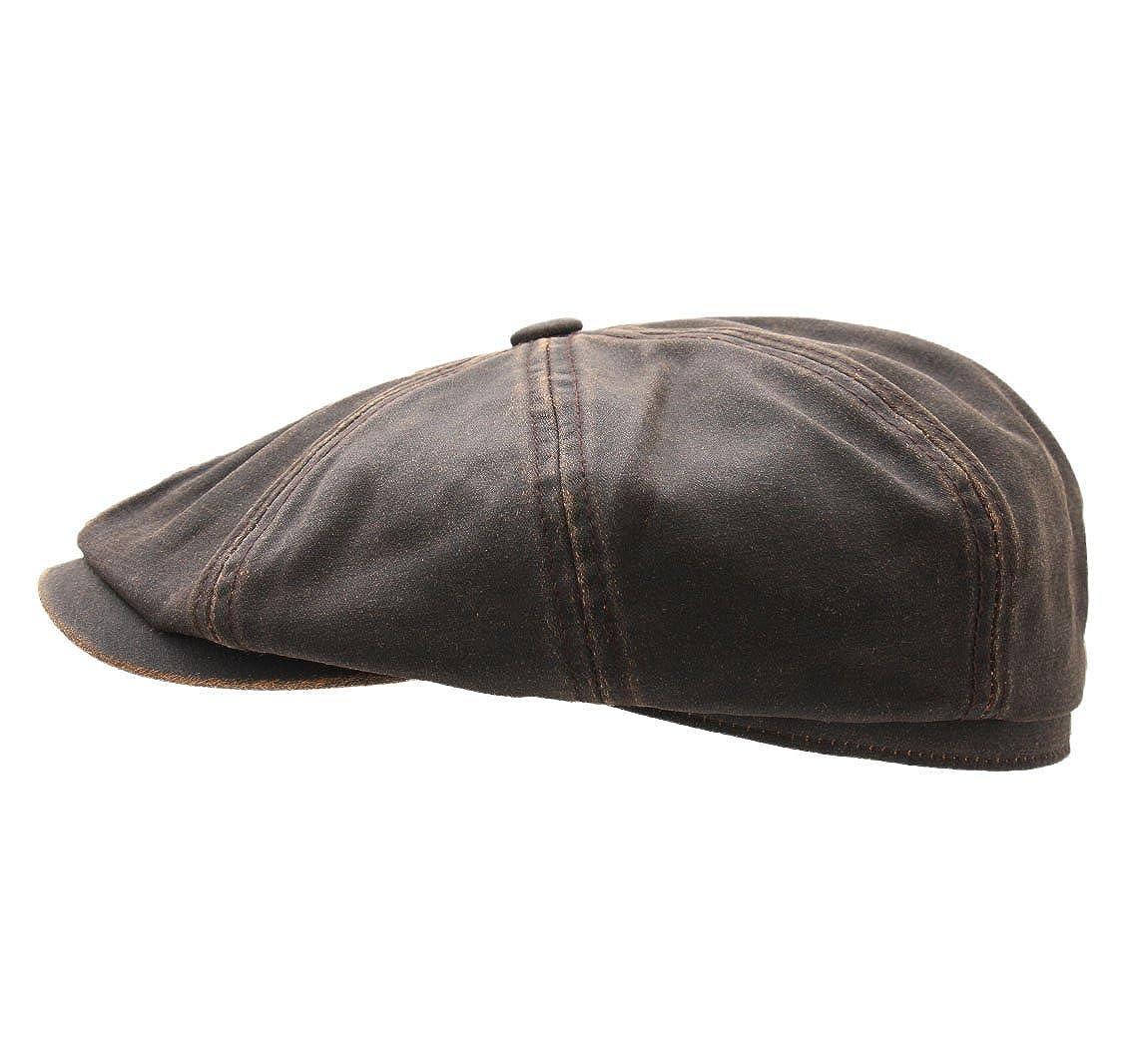 Stetson Mens Hatteras Co Flat Cap