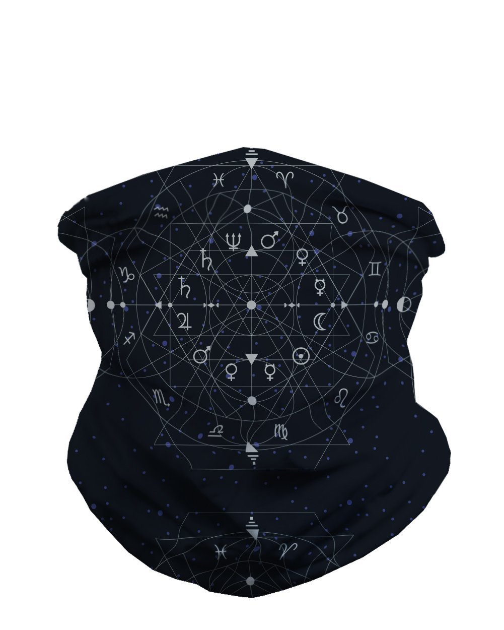 iHeartRaves Seamless Face Mask Bandanas for Dust, Outdoors, Festivals, Sports mask-js-acidlg