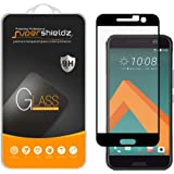 Supershieldz for HTC 10 Tempered Glass Screen Protector, [Full Screen Coverage] Anti-Scratch, Bubble Free, Lifetime Replacement Warranty (Black)