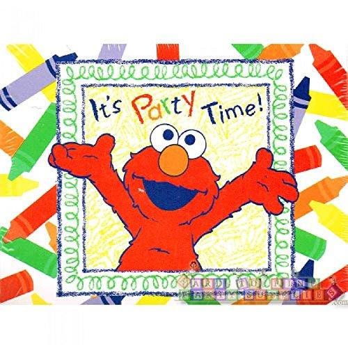 Sesame Street Elmo\'s World Invitations w/ Envelopes (8ct)