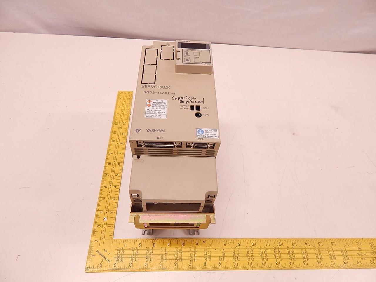 Yaskawa SGDB-15ADP-R Servopack T75513