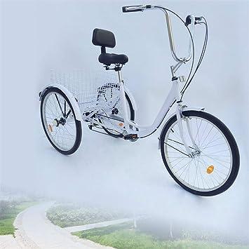 YIYIBY – Bicicleta de Ciudad, para Adultos, Triciclo, para Adultos, para IR