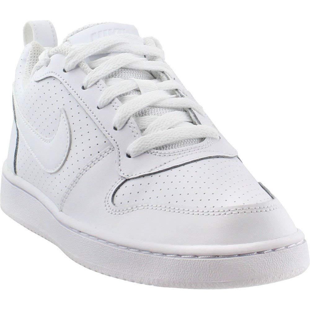 Nike Mädchen WMNS Court BGoldugh Low Basketballschuhe weiß 36.5 EU