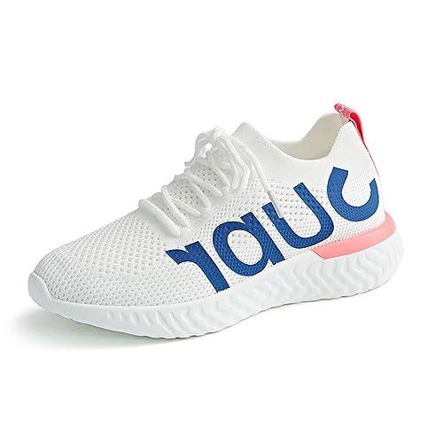 LFEU - Zapatillas de Running de Lona Mujer: Amazon.es: Zapatos y complementos
