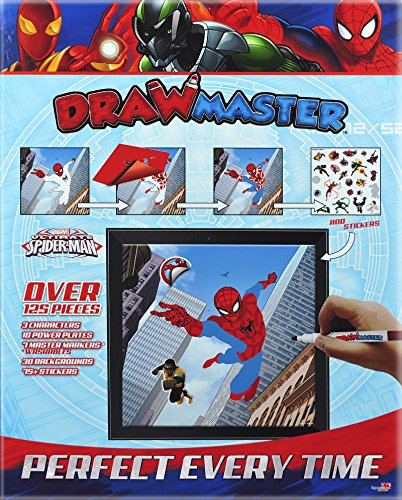 Drawmaster Marvel Ultimate Spider-Man: Spider-Man, Vulture and Iron Spider (Deluxe Set)