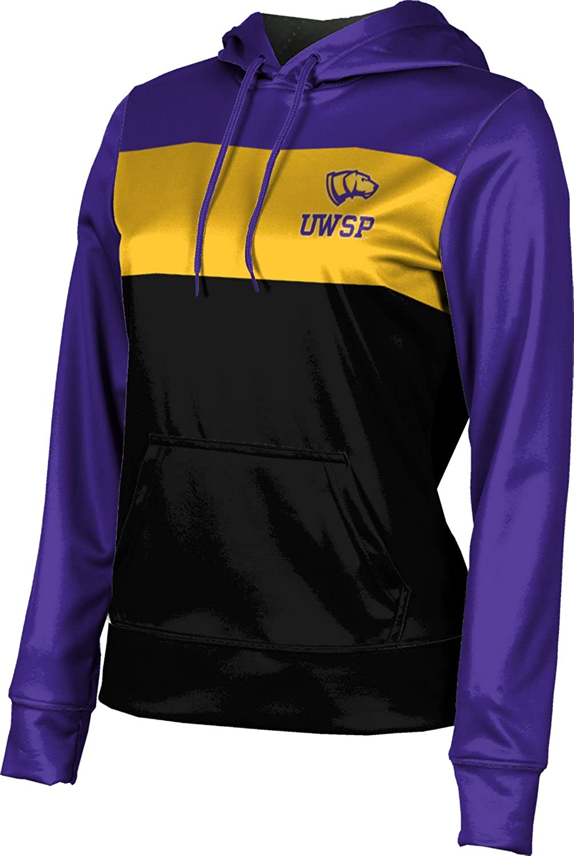 School Spirit Sweatshirt University of Wisconsin-Stevens Point Girls Pullover Hoodie Prime