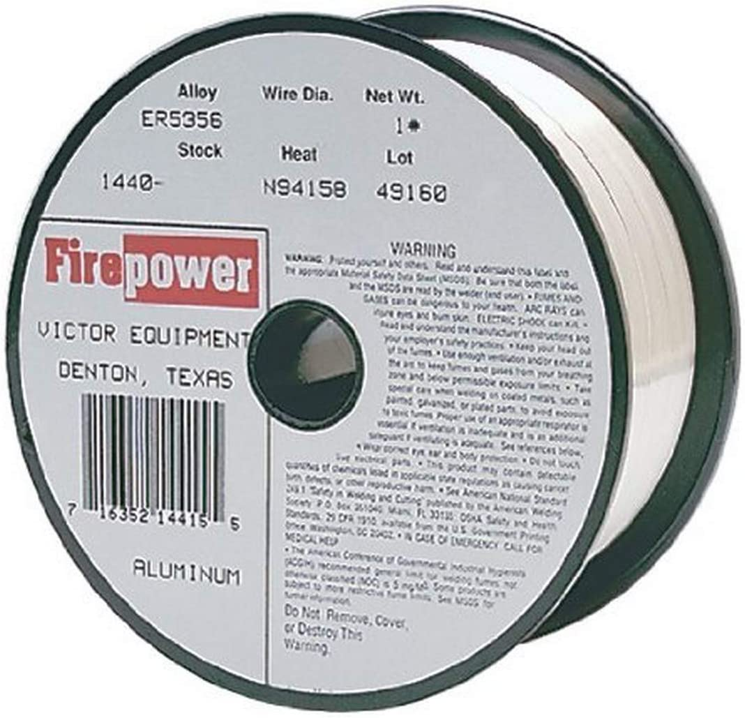 Thermadyne 1440-0241 Firepower ER5356 Metal Inert Gas Wire Aluminum 1-Pound Spool