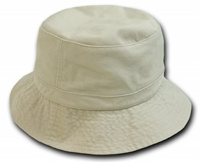 4d830bc3040 DECKY Polo Bucket Hat (STONE