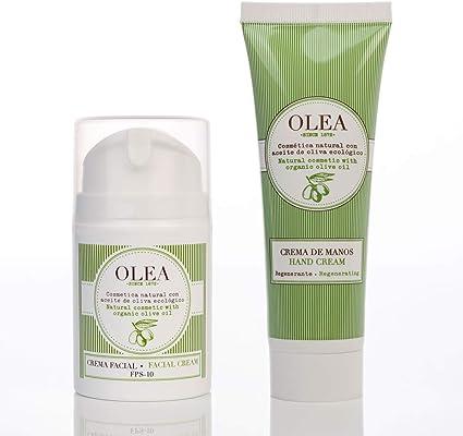 García de la Cruz - Pack Crema Facial Antiedad y Crema Manos. Protección Solar 10. Ácido Oleico: Amazon.es: Belleza
