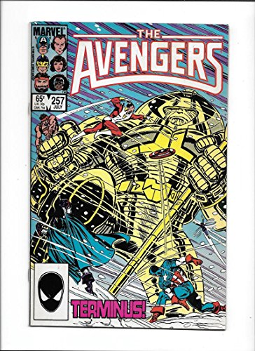 Avengers  257  1985 Vf   1St App Nebula Guardians Of The Galaxy