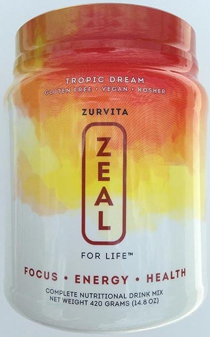 Amazon.com: Zeal For Life Tropic Dream Wellness 420G: Health & Personal Care