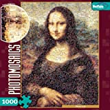 Photomosaic Mona Lisa 1000 Pieces Jigsaw Puzzle