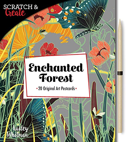 Scratch & Create: Enchanted Forest: 20 original art postcards