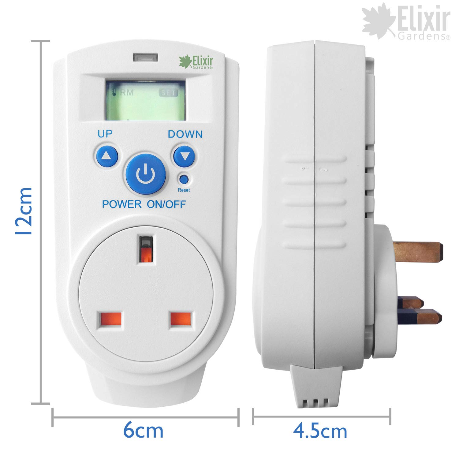 Thermo Guard Digital Control Plugin Thermostat Th 928t Plug Not A Socket Feeding The Boat Ac System Garden Outdoors