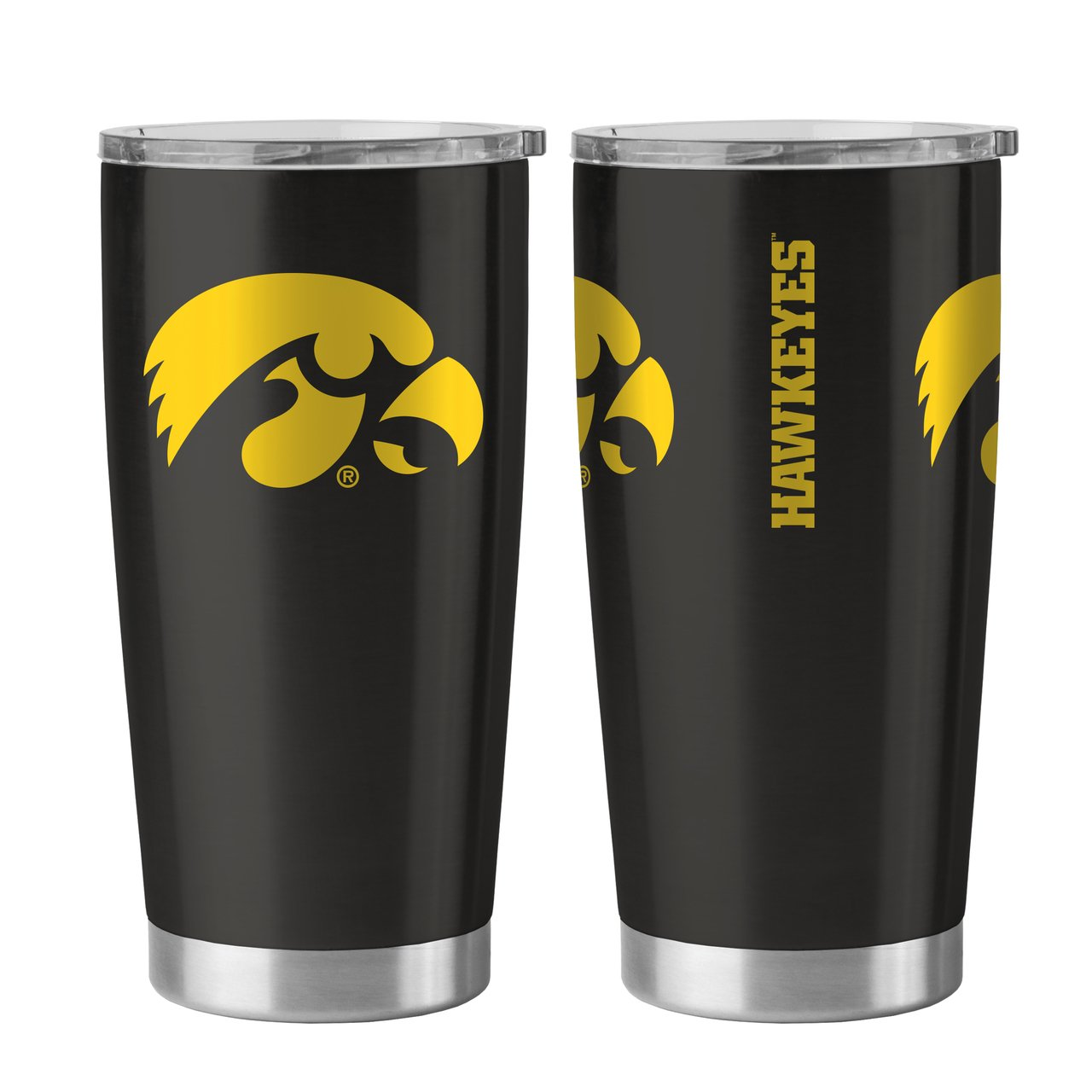 Iowa Hawkeyes 20 oz Ultra Stainless Steel Travel Tumbler by Boelter Sports
