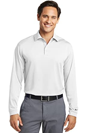 24db665d55f5 Nike Golf Long Sleeve Dri-FIT Stretch Tech Polo  Amazon.co.uk  Clothing