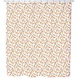 Uneekee Pillow Fight Shower Curtain: Large Waterproof Luxurious Bathroom Design Woven Fabric