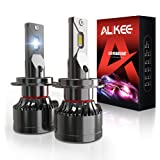 H7 LED Headlight Bulb, Aukee 110W High Power 18,000LM Extremely Bright 6000K Cool White CSP Chips Conversion Kit Adjustable B