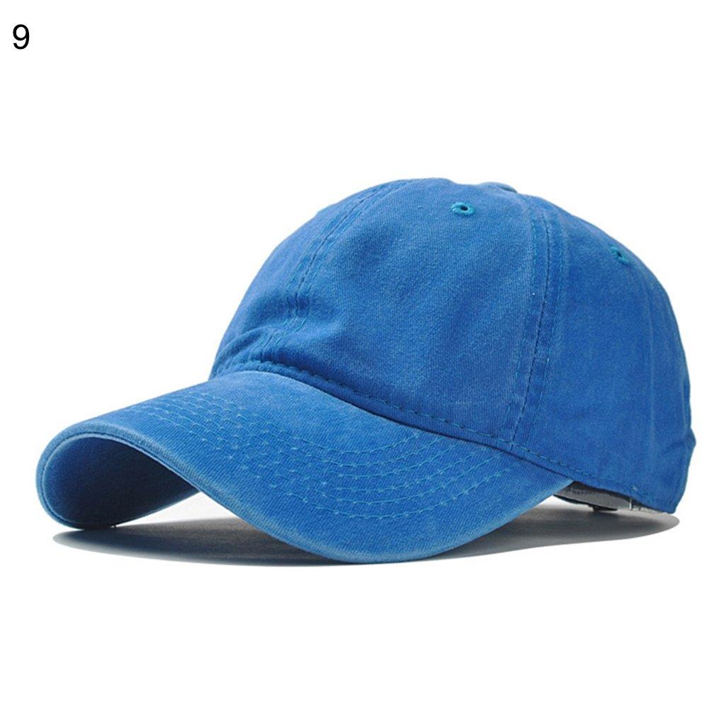 SEGRJ Fashion Solid Color Hip Hop Hat Unisex Adjustable Baseball Cap Sports Snapback Caps