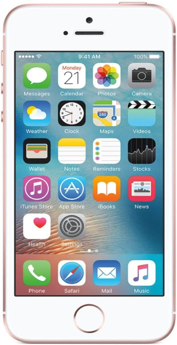 Apple iPhone SE, 64GB, Rose Gold - For AT&T / T-Mobile (Renewed)