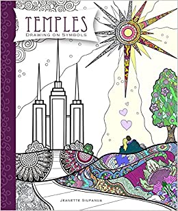 Temples: Drawing On Symbols - LDS (Mormon) Coloring Book: Belinda ...