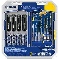 Kobalt 43-Piece Shank Screwdriver Bit Set
