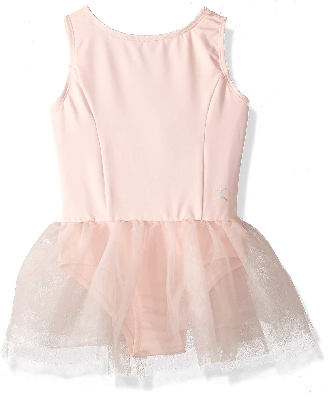 Danskin Girls' Little Tutu Skirt Leotard, 7270