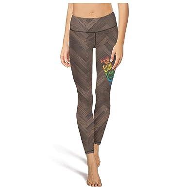2dc956aab45155 Girl Yoga Pants Gay Pride Rainbow Flag high Waist Sexy Yoga Leggings with  Pockets at Amazon Women's Clothing store: