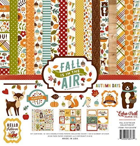 Echo Park Paper Company Fall is in The Air Collection Kit