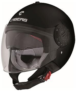 Caberg Helm Riviera V3 Jethelm matt schwarz, 30530017, Größe S (55/56