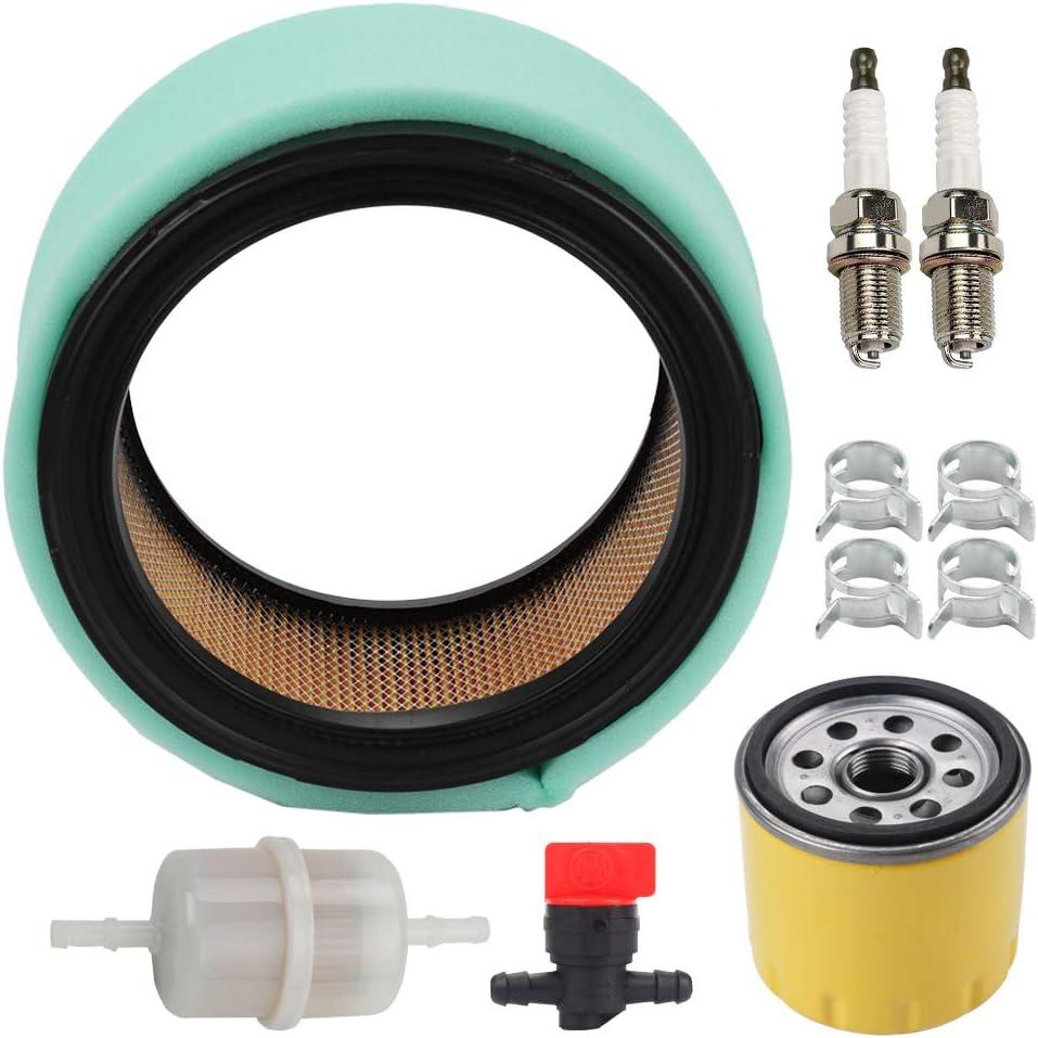 Panari 24 083 03-S Air Filter 52 050 02-S Oil Filter for Kohler John Deere GY20576 Command 18HP-25HP OHV Engine