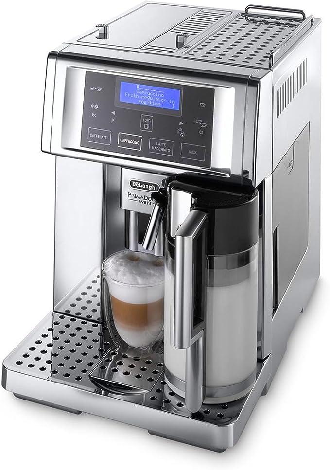 De Longhi esam6720 prima Donna Avant – Cafetera automática, 1350 W: Amazon.es: Hogar