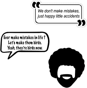 Painter Ross Stickers Quotes
