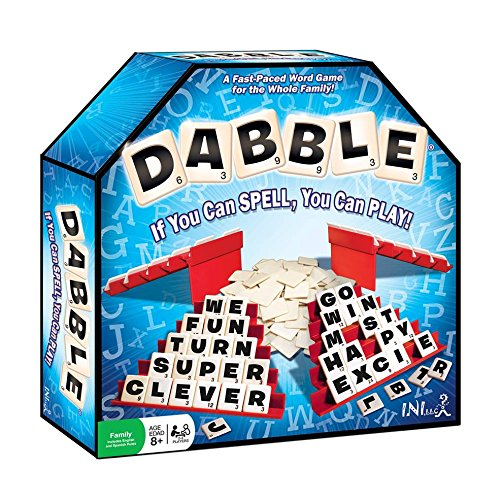 Dabble Word Game - Award Winning, Educational, Improves Spelling & Vocabulary and is Fun for The Whole Family