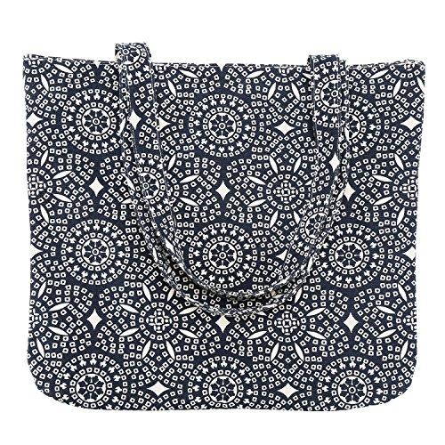 LATH.PIN - Bolso de tela de sintético para mujer Multicolour Azul