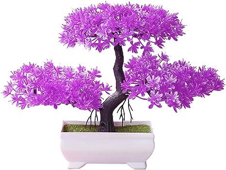 Home Decorations Lifelike Plants Simulation Flower Potted Artificial Bonsai