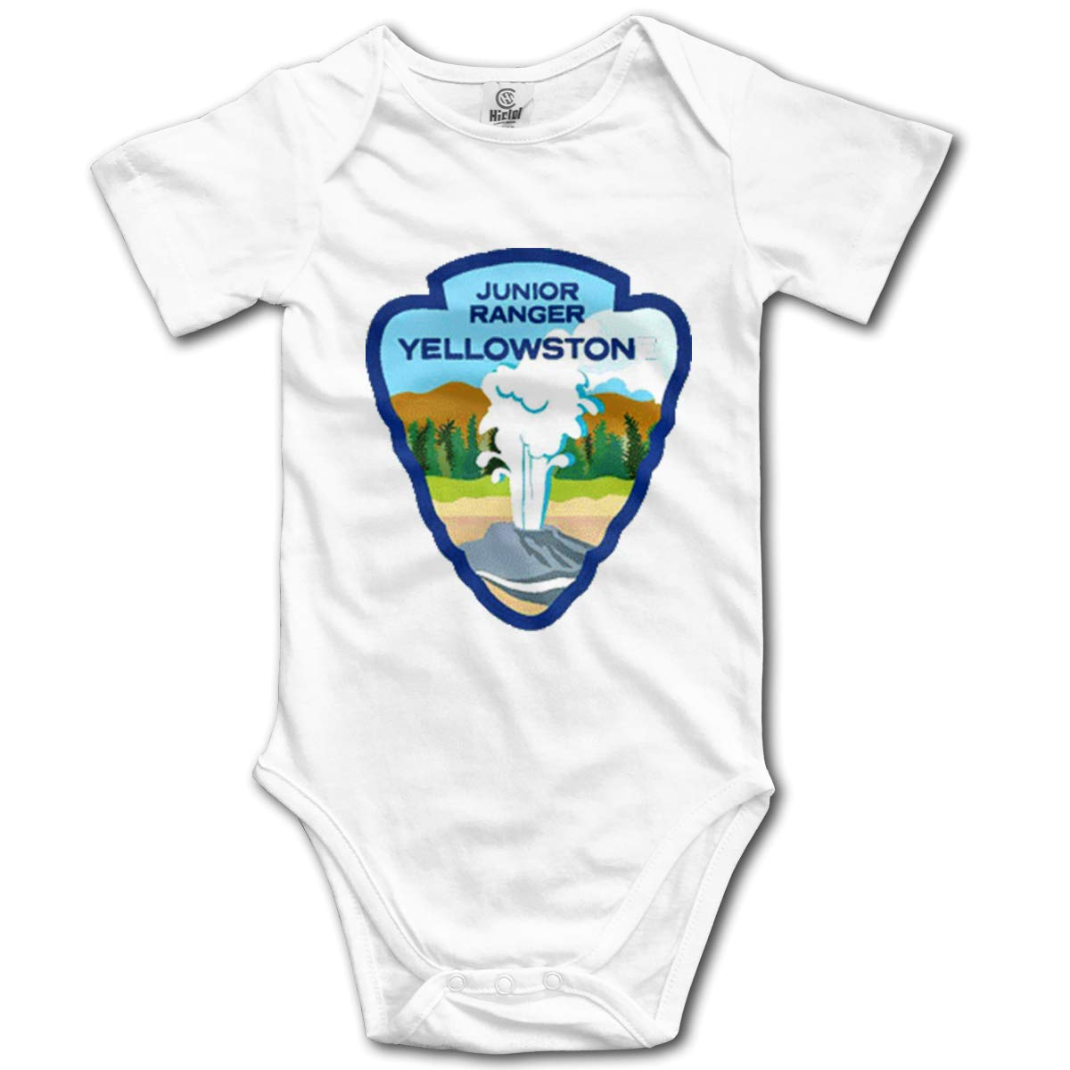 VANMASS Infant Toddler Yellowstone National Park Service Short Sleeve Bodysuits Playsuits