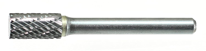 Drillco 7000A Series Magnum Solid Carbide Miniature Bur Double Cut 7//16 Cutting Length 1//8 Shank Diameter Pack of 1 3//32 Head Diameter 1-1//2 Length Cylindrical Flat End