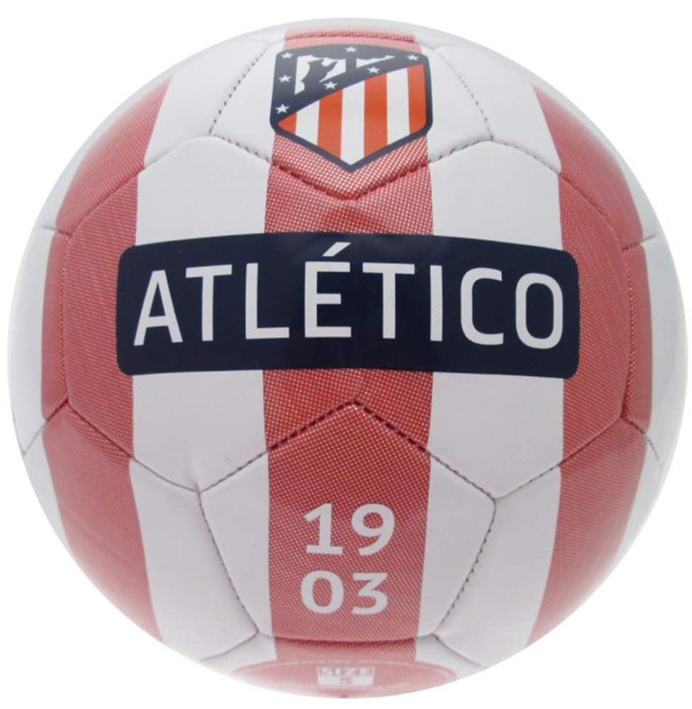 ATLETICO MADRID balón Oficial Med. 5 ATM7BG2, Bianco: Amazon.es ...