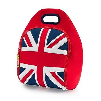 Dabbawalla Bags British Invasion Union Jack Kids    Adults  Insulated  Washable   Eco- 1fbc12cf86a49