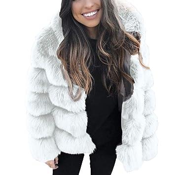 539b4776ae9 Dames Manteau Outwear Veste Parka Femmes Mode Manteaux De Vison d hiver À  Capuche Fausse