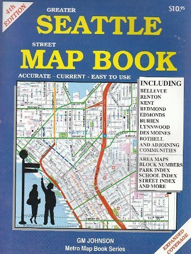 Greater Seattle Street Map Book (Greater Seattle Map)