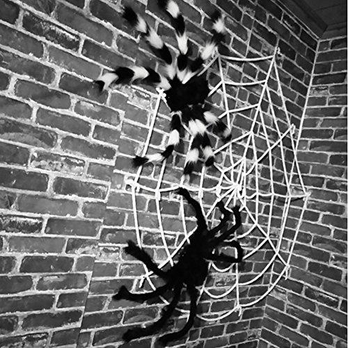 80s Superman Costume (Smartcoco 1pcs Multi-size Plush Spider Halloween Props Scary Decoration Jokes Toy)