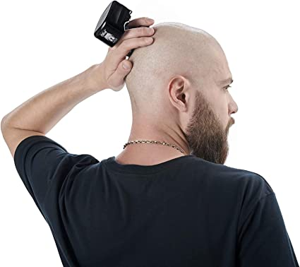 Skull Shaver Afeitadora de cabeza Shaver Palm, Afeitadora eléctrica de hombre, Máquina de afeitar eléctrica para cabeza y cara: Amazon.es: Salud y cuidado personal